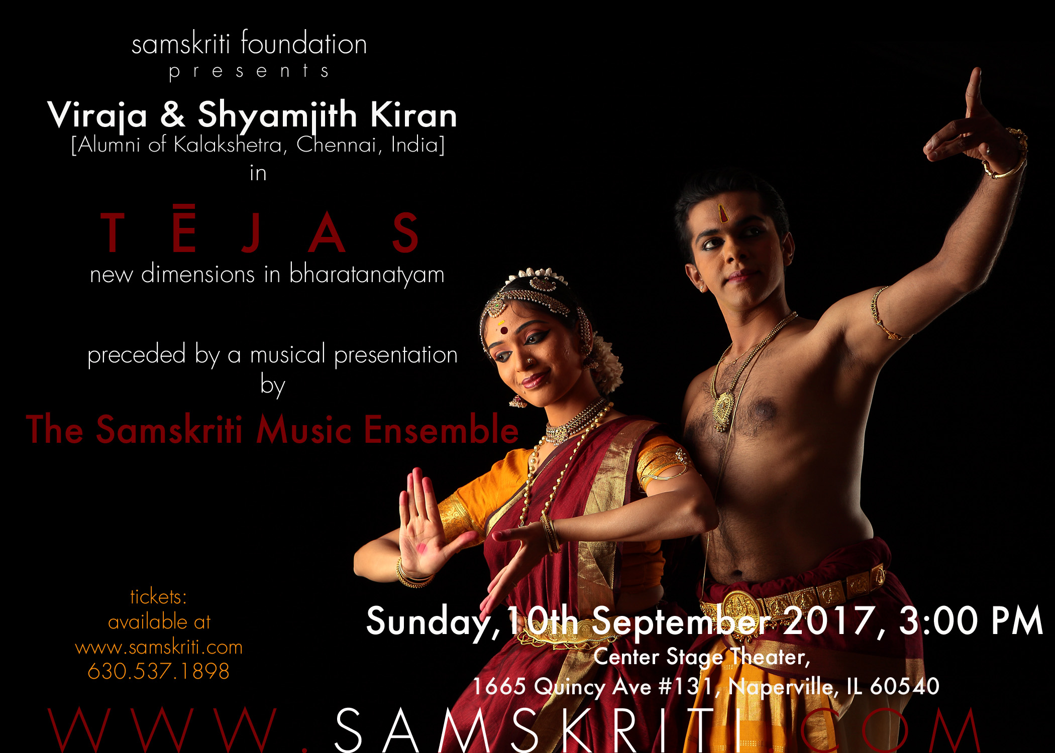 TEJAS - new dimensions in Bharatanatyam