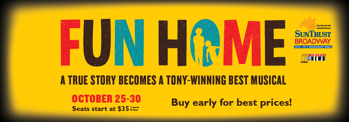 Fun Home at Durham Performing Arts Center