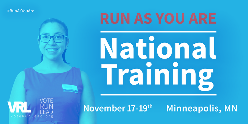 "VoteRunLead's ""Run As You Are: National Training"" 2017"