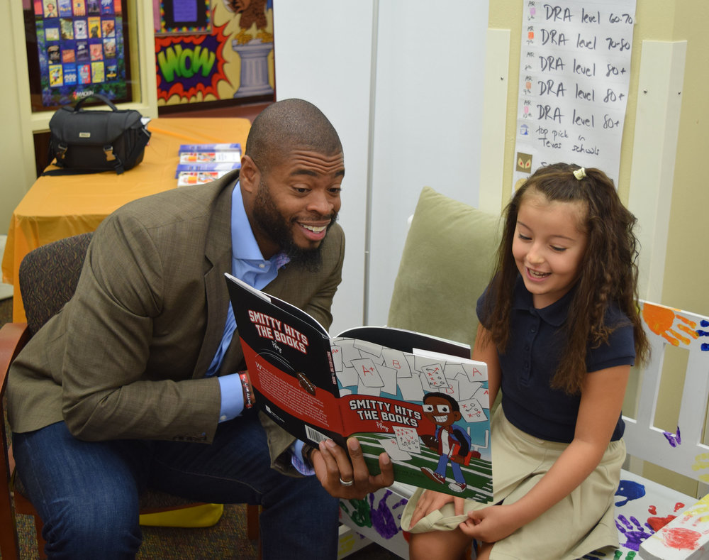 Wade Smith Reads Smitty Hits The Books at The Children's Museum