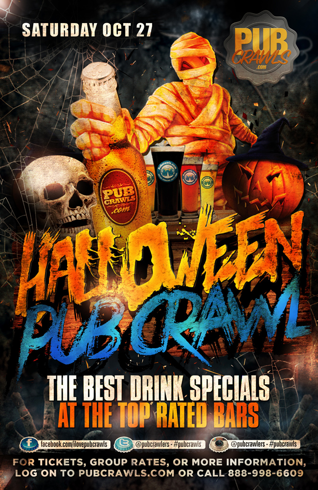 HalloWeekend Pub Crawl Newport Beach