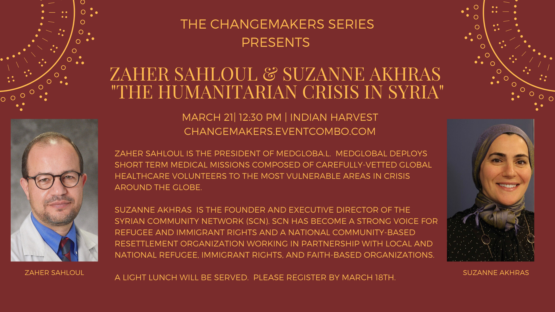 The Changemakers Series: The Humanitarian Crisis in Syria