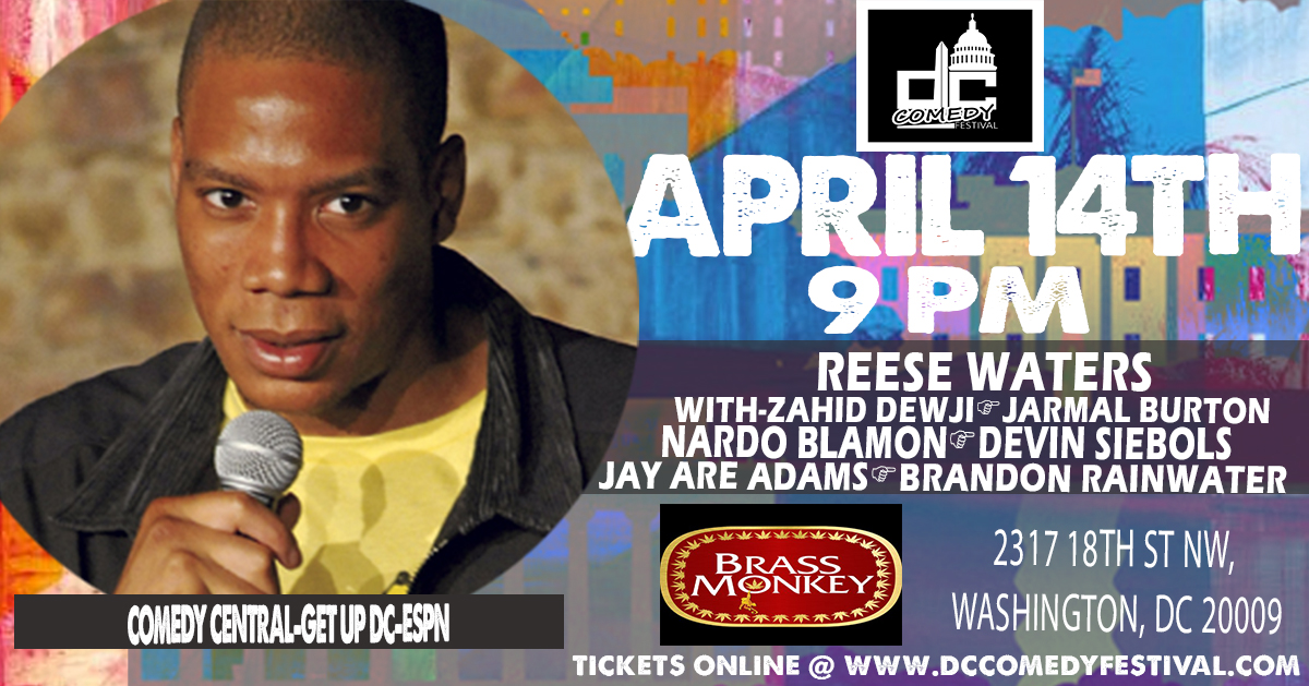 DC Comedy Festival presents: Reese Waters