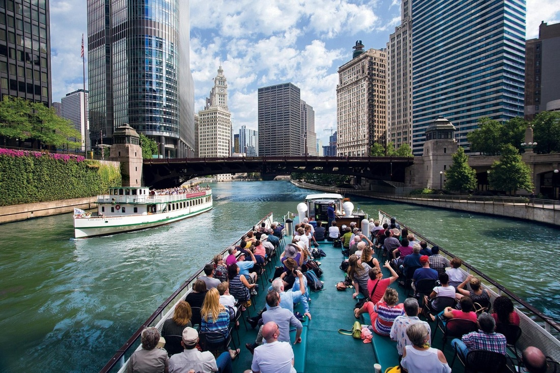 The Chicago Architecture River Cruise title =
