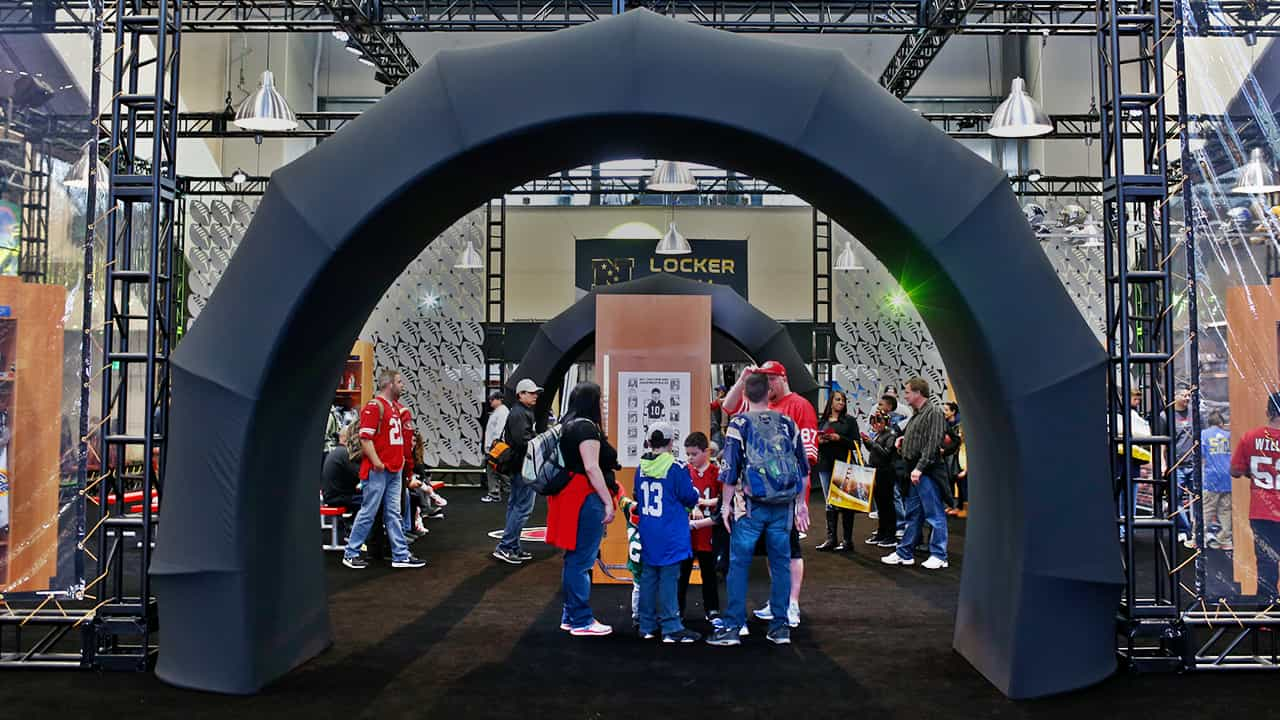 NFL Experience Driven by Genesis at George R. Brown Convention