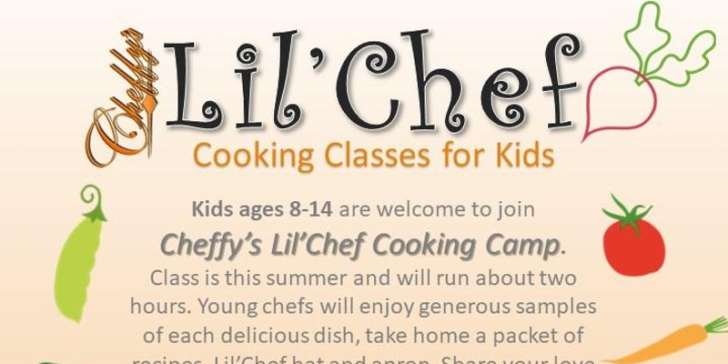 Lil'Chef Cooking Class for Kids by Cheffy's