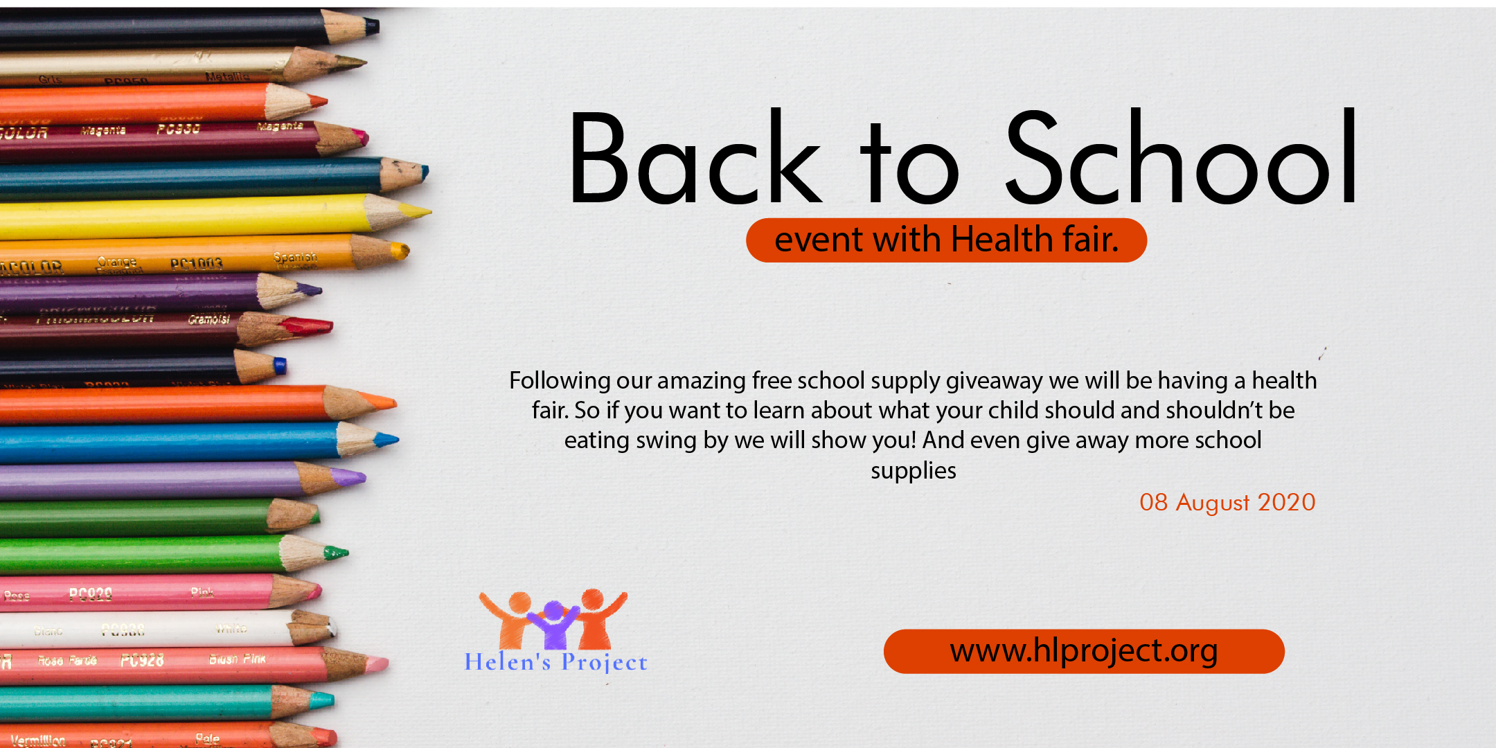 Back to School event with Health Fair