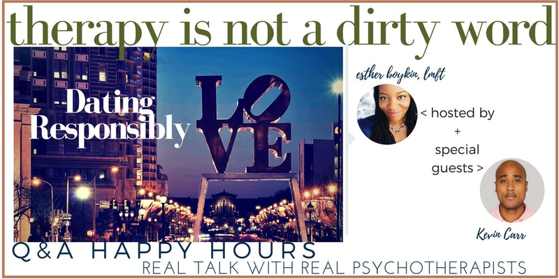 Therapy Is Not A Dirty Word - Q & A Happy Hour [Philadelphia] featuring Kevin Carr