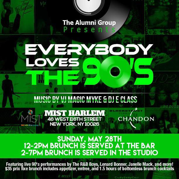 Everybody Loves The 90's Brunch & Day Party