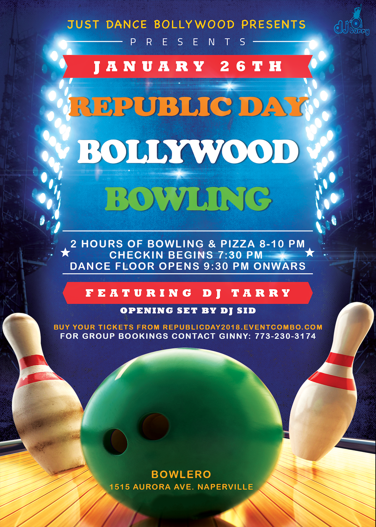 Republic Day Bollywood Bowling