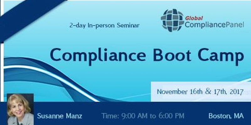 Compliance Boot Camp 2017