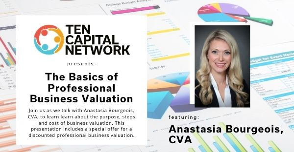 TEN Edu E-Series: The Basics of Professional Business Valuation Webinar