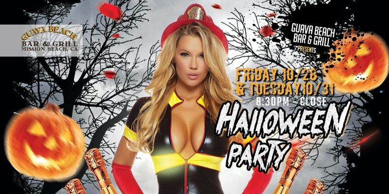 Mission Beach Halloween Party