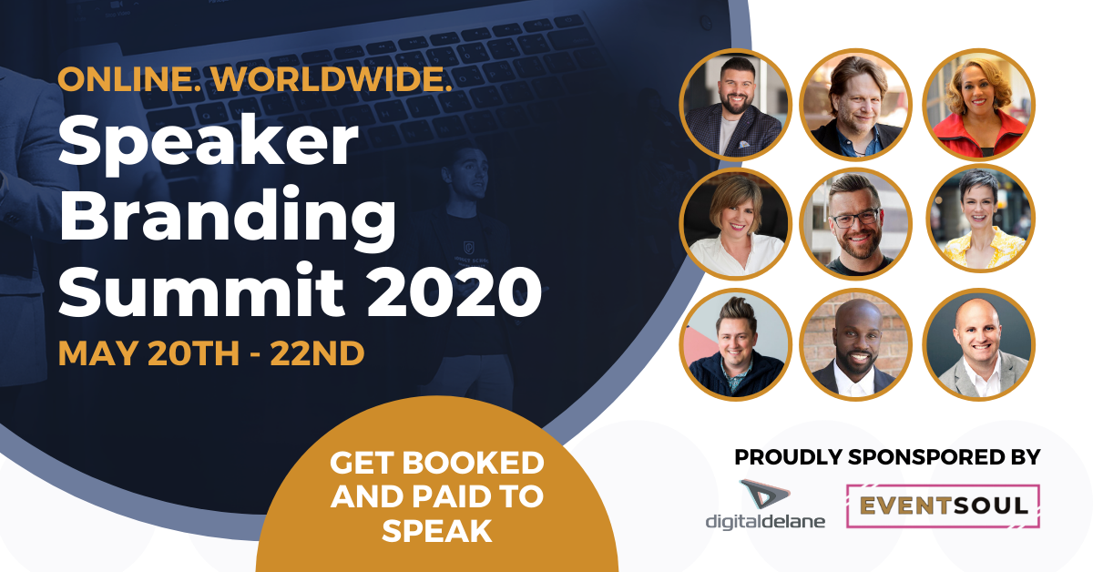 SPEAKER BRANDING SUMMIT (ONLINE EVENT)