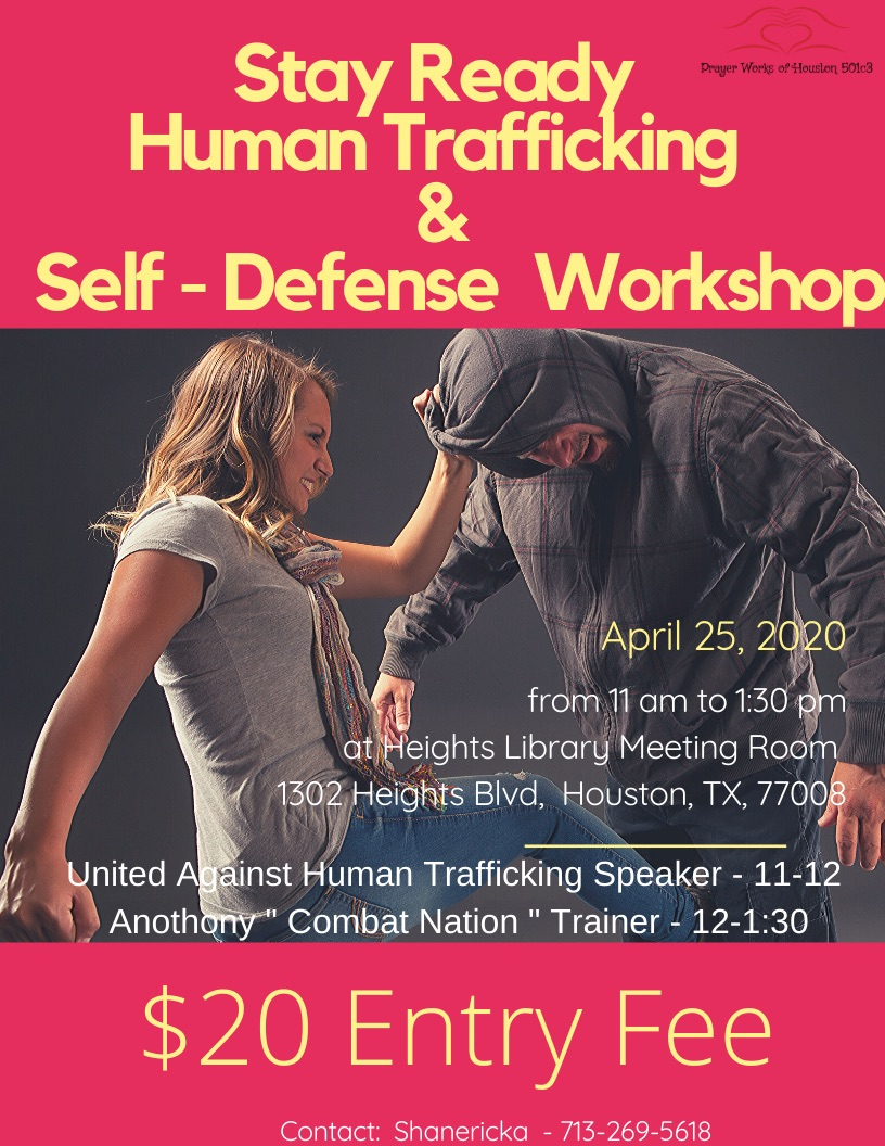 Stay Ready Human Trafficking and Self Defense Workshop