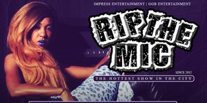 "RIP THE MIC LIVE FEATURING ""LADY CAM"" @ FUSION LOUNGE"