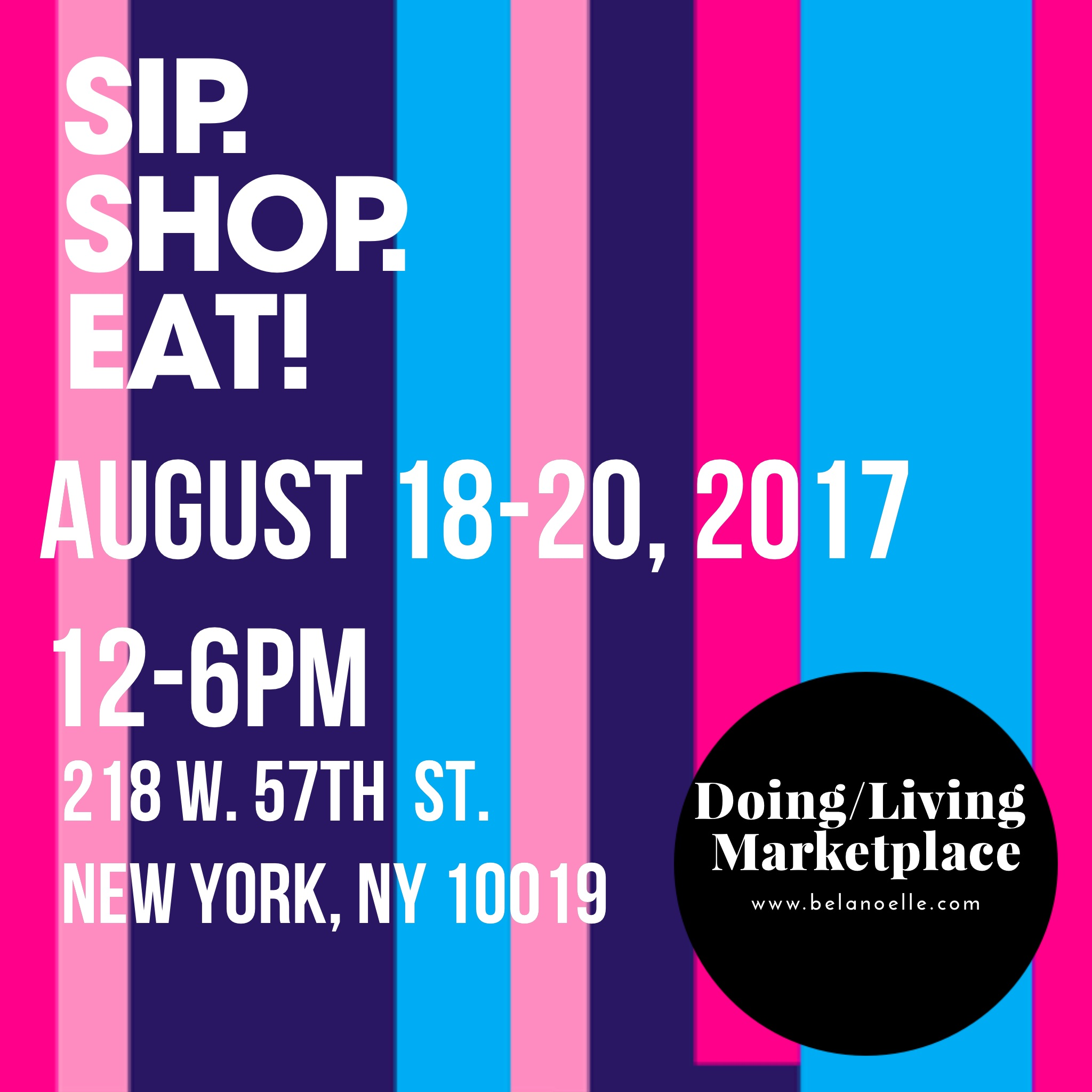 SIP. SHOP. EAT! at The Collective Market in Midtown