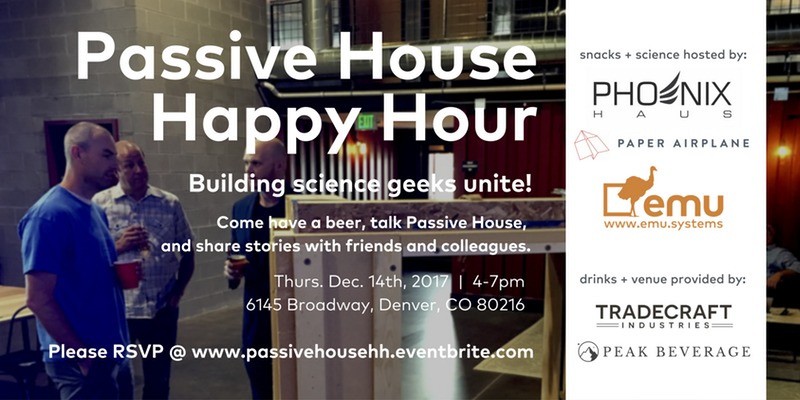 Passive House Happy Hour