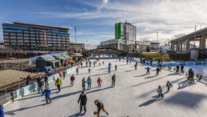 Winter Eats and Everyday Activities at Canalside