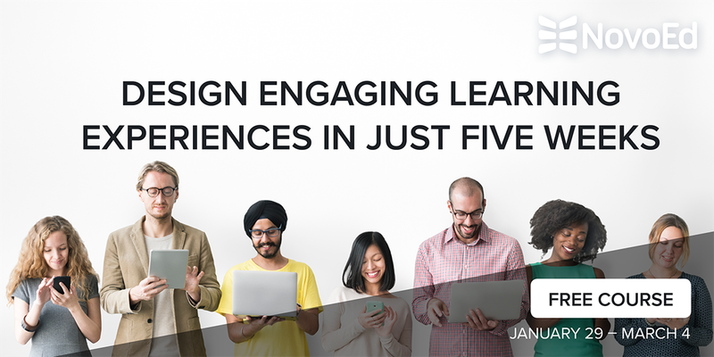Free 5-week Online Course - Design Engaging Learning Experiences - Dallas
