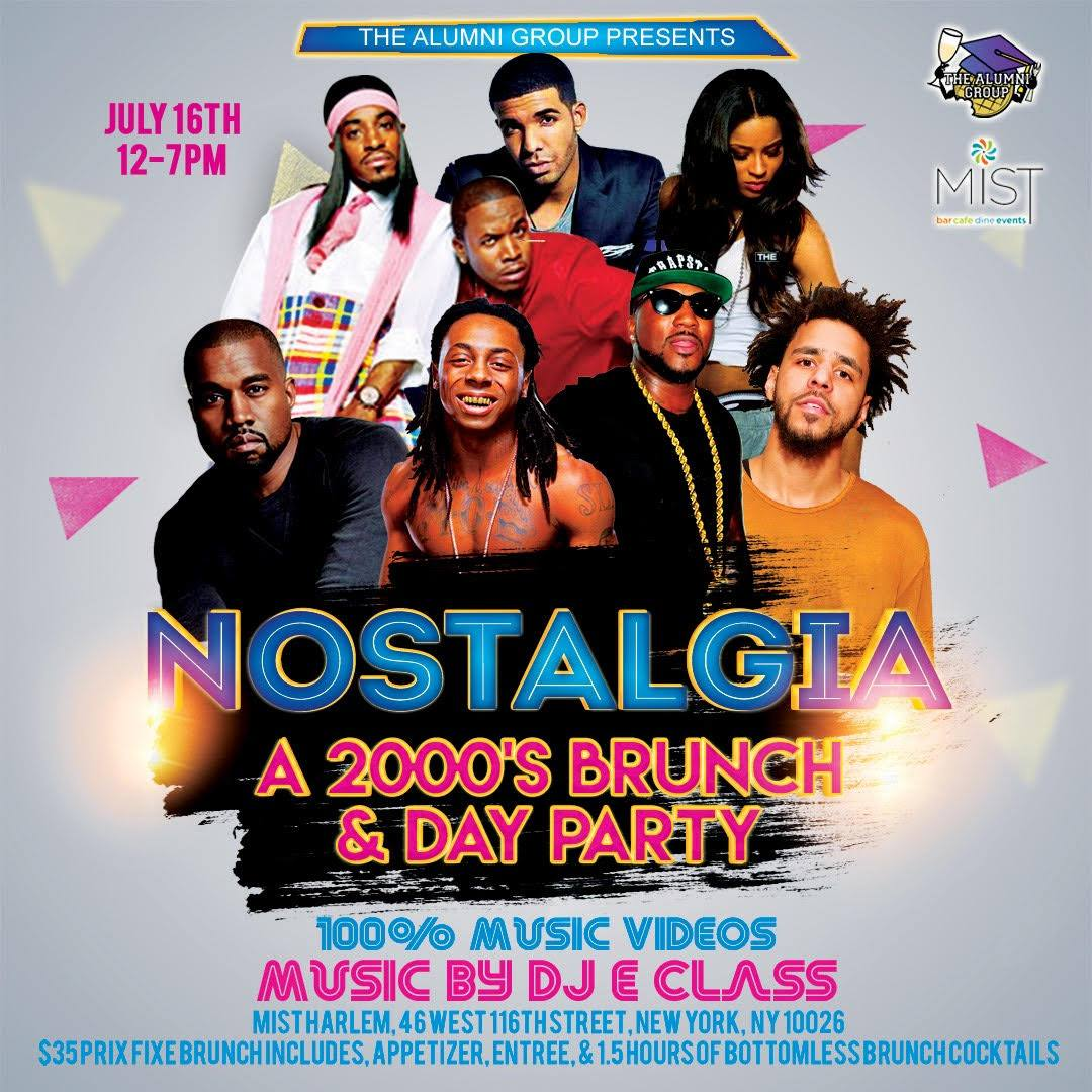 Nostalgia: A 2000's Brunch & Day Party