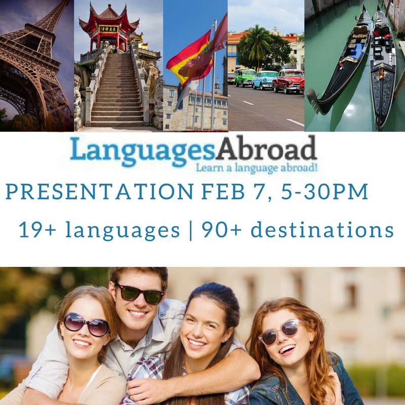 Languages Abroad Presentation
