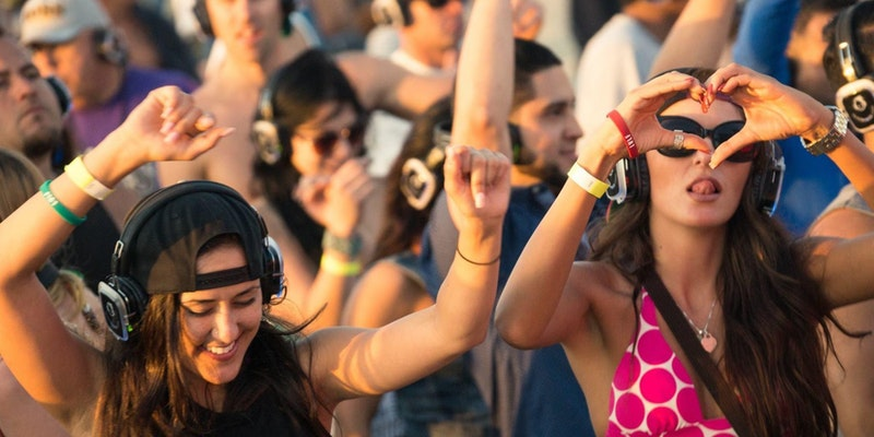 Silent Disco Rooftop Brunch Party: House Music Edition
