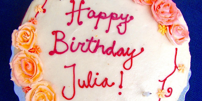 Come for Julia Child \ Stay for Birthday Cake with Lynne Rossetto Kasper