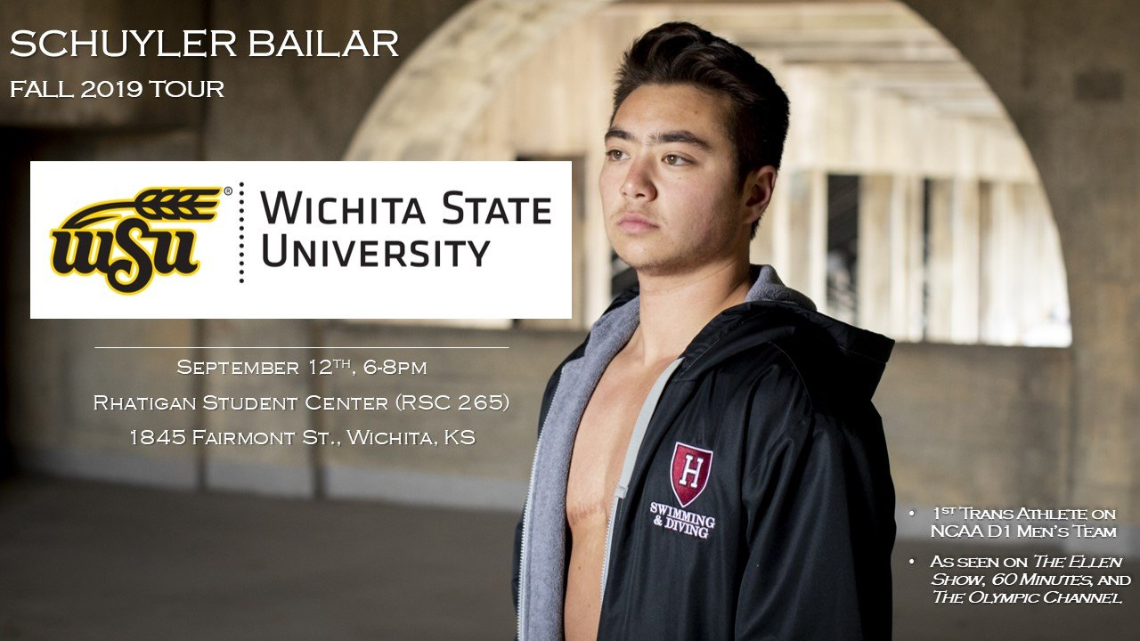 Schuyler Bailar Speaks at WSU