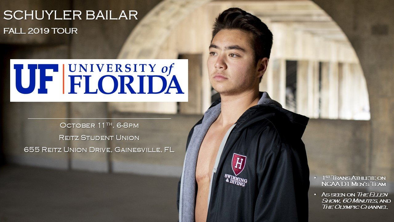 Schuyler Bailar Speaks at UF