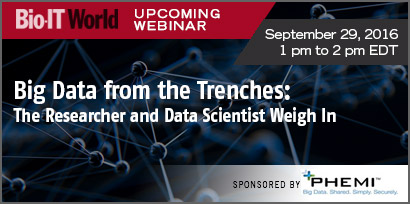 Big Data from the Trenches: The Researcher and Data Scientist Weigh In