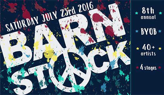 Barnstock 2016: BYOB Music Festival Benefiting Charitable Organizations