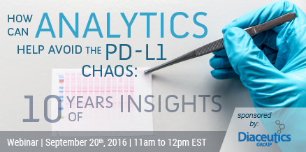 How Can Analytics Help Avoid the PD-L1 Chaos: 10 Years of Insights