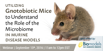Utilizing Gnotobiotic Mice to Understand the Role of the Microbiome in Murine Disease Models
