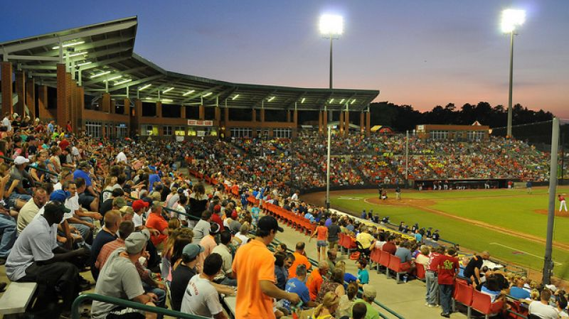 Hickory Crawdads Minor League Baseball Season