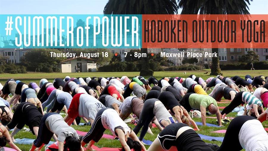 Hoboken Outdoor Yoga at Maxwell Place Park