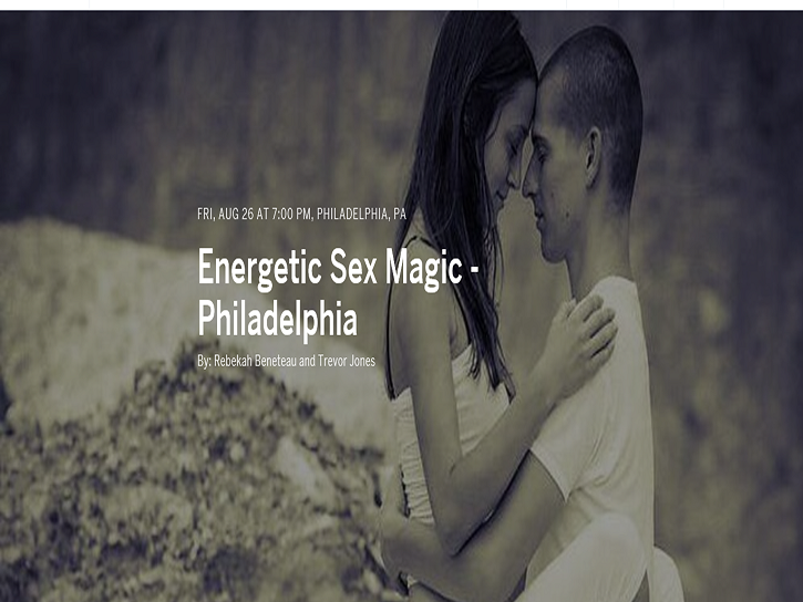Energetic Sex Magic - Philadelphia