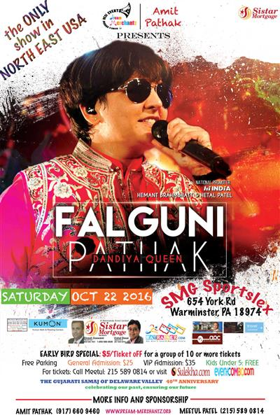 Falguni Pathak & Ta-Thaiya Group