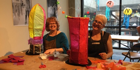 Atlanta BeltLine Lantern Parade Workshop: Lantern Hats - ADULT SWIM