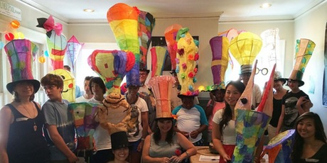 Atlanta BeltLine Lantern Parade Workshop: Lantern Hats