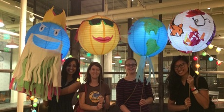 Atlanta BeltLine Lantern Parade Workshop: Globe Lanterns - ADULT SWIM