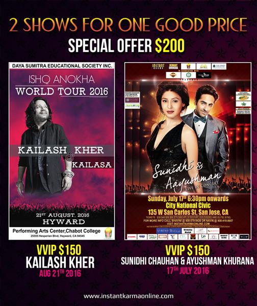 Summer Dhamaka - Sunidhi Chauhan and Aayushman and Kailesh Kher Combo Deal