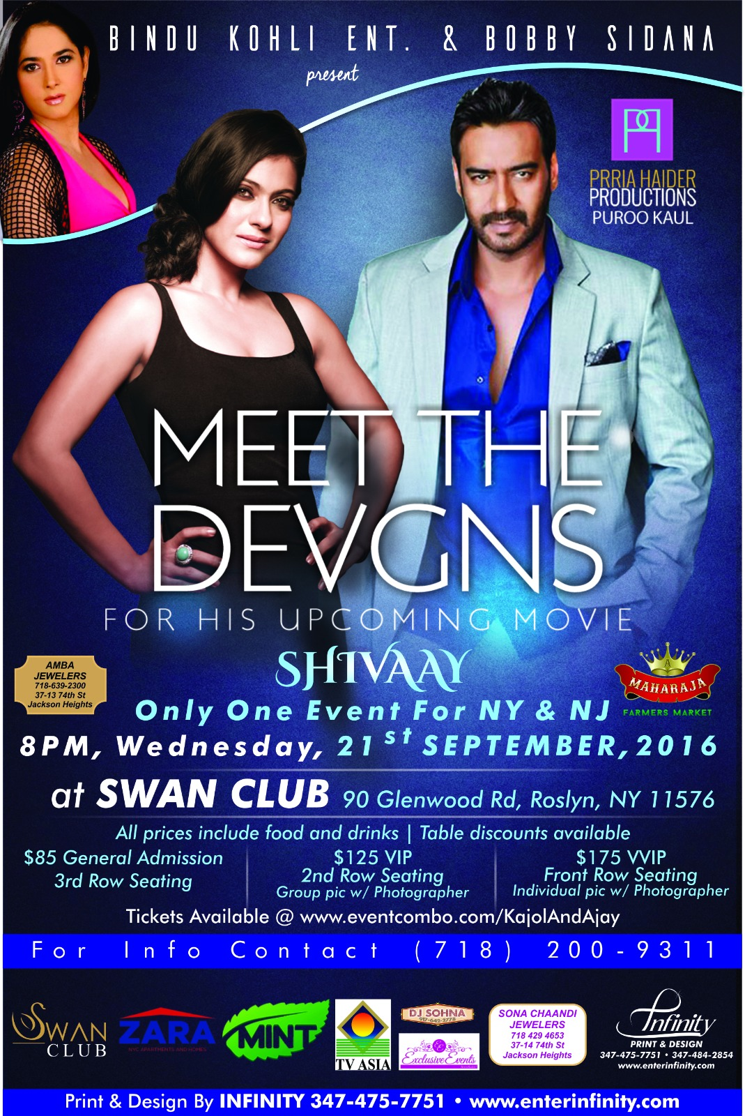 Meet the Devgns - Kajol and Ajay Devgn LIVE Meet and Greet in New York