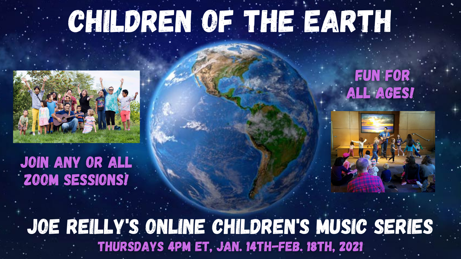 Children of the Earth: Joe Reilly's Online Children's Music Series