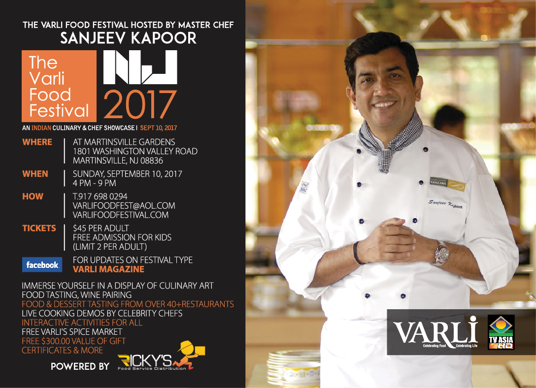 The Varli Food Festival 2017 - An Indian Culinary and Chef Showcase