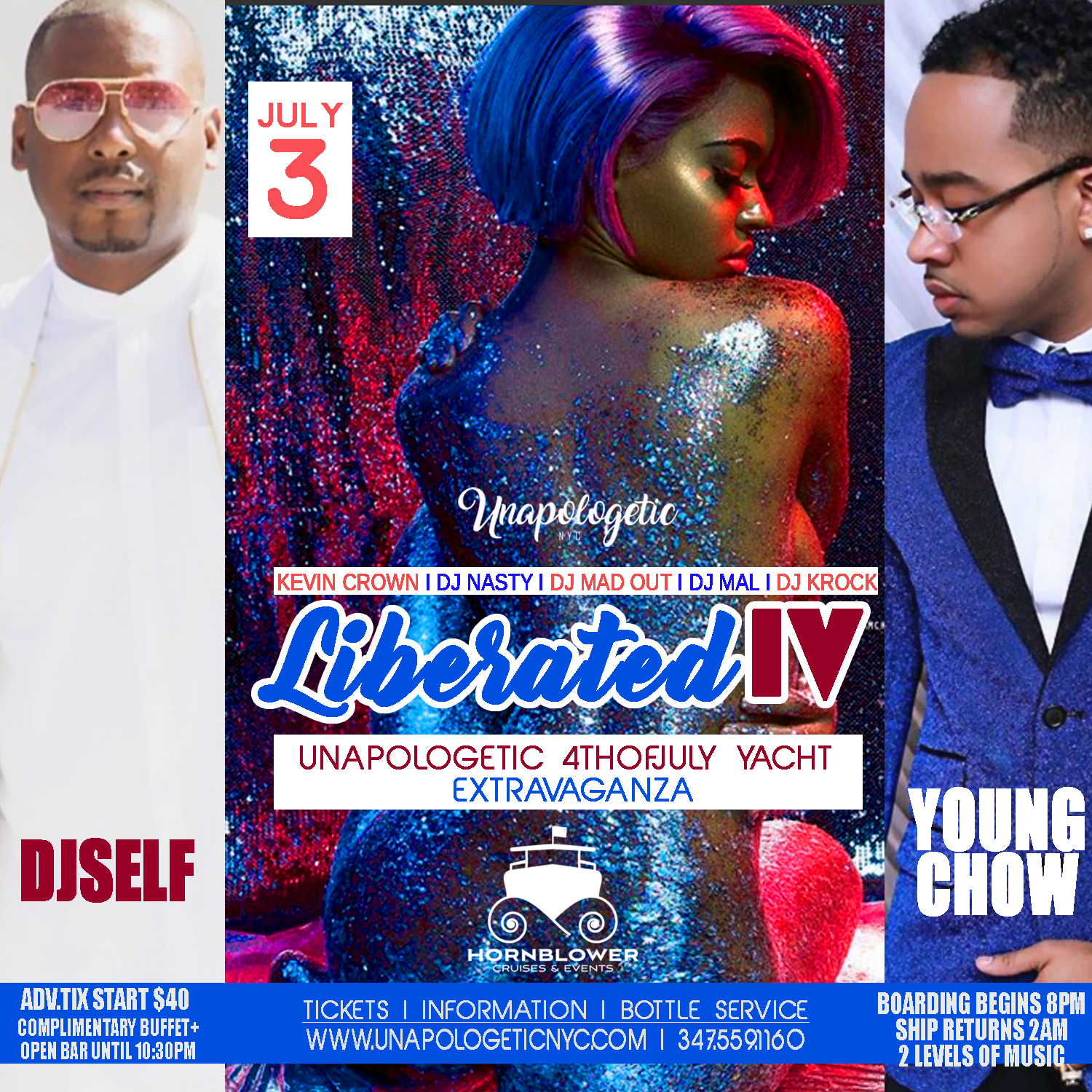LIBERATED IV YACHT AFFAIR I DJ SELF I YOUNG CHOW