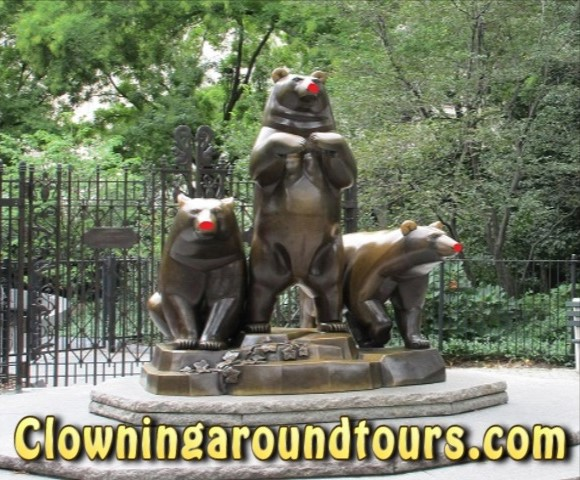 Clowning Around Tours NYC in Central Park NYC
