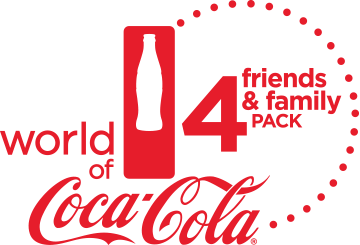 "New ""Friends & Family Four-Pack"" Offer from the World of Coca-Cola"