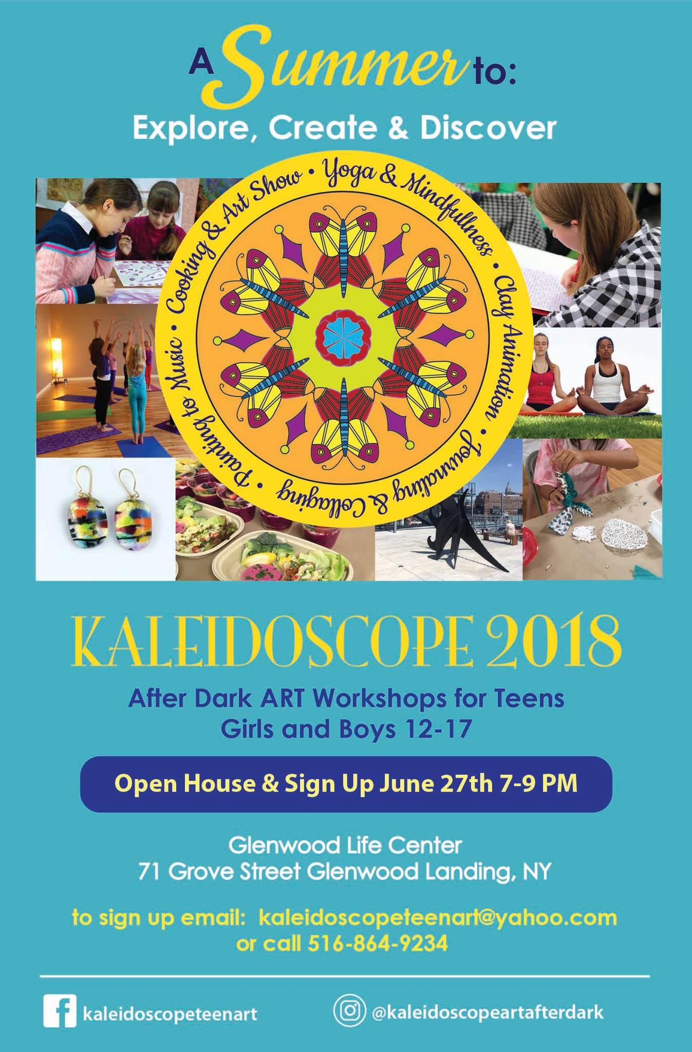 Kaleidoscope After Dark Teen Arts Workshop