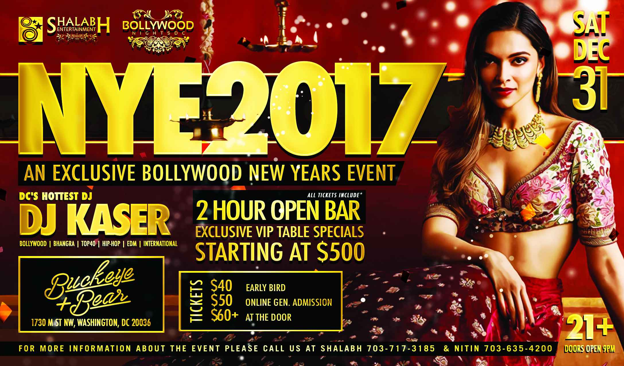 Bollywood New Year's Party in Washington DC